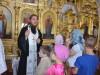 Таборяни недільної школи взяли безпосередню участь в Літургії та екскурсіїї по храму