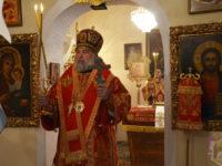Усікновіння глави Іоана Хрестителя. Архієрейське богослужіння у Спасо-Преображенському храмі
