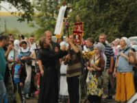 """Ювілейний хресний хід  """"Миру, любові та молитви за Україну"""" в дорозі"""