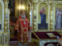 День пам'яті великомученика і цілителя Пантелеімона. Архієрейське богослужіння