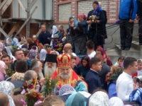 Єпископ Тихон взяв участь у святковому богослужінні в Свято-Аннинському монастирі на Буковині