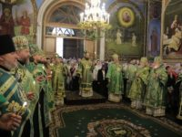 Напередодні дня пам'яті прмч. Афанасія Брестського єпископ Тихон взяв участь у всенічному бдінні в соборі м.Бреста
