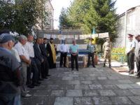 Голова Відділу душпастирської опіки єпархії взяв участь у святі Першого дзвоника у виправній колонії №41