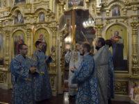 Неділя 16-та по П'ятидесятниці. Архієрейське богослужіння у кафедральному соборі