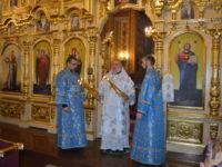 У день Різдва Богородиці керуючий єпархією звершив святкове богослужіння у кафедральному соборі