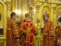 Єпископ Тихон звершив всенічне бдіння напередодні Воздвиження Хреста Господнього