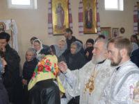 Єпископ Тихон очолив богослужіння під час престольного свята у Свято-Михайлівському монастирі