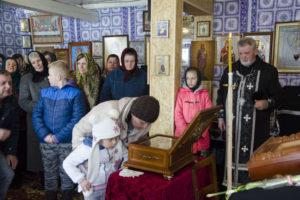 Слава Богу за все. Мощі святого Спиридона Триміфунтського відвідали громаду у Старому Гвіздці (ВІДЕО, ФОТО)
