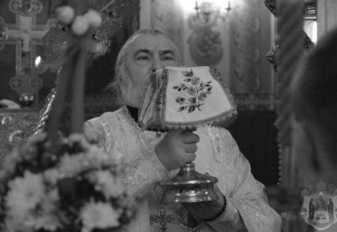Прес-служба повідомляє про чин відспівування та прощання зі спочилим єпископом Тихоном