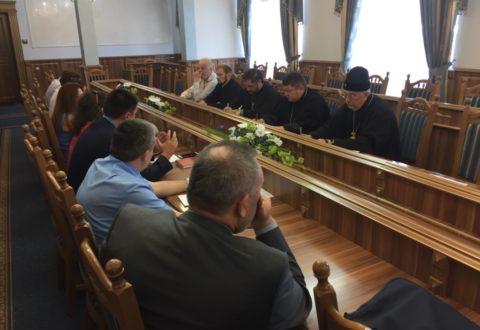 Представники єпархії взяли участь в засідання оргкомітету по відзначенню 1030-річчя Хрещення Київської Русі на Прикарпатті