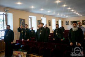 Представник єпархії взяв участь у зібранні єпархіальних юридичних відділів Української Православної Церкви