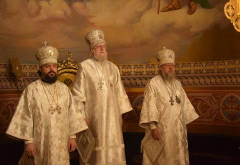 Відбулося заупокійне богослужіння у річницю смерті єпископа Тихона (Чижевського)