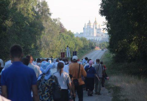 Стартує Хресний хід Івано-Франківськ – Почаїв