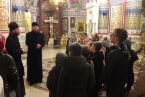 Учні Недільної школи храму Всецариці с. Ценява побували у Кам'янець-Подільському