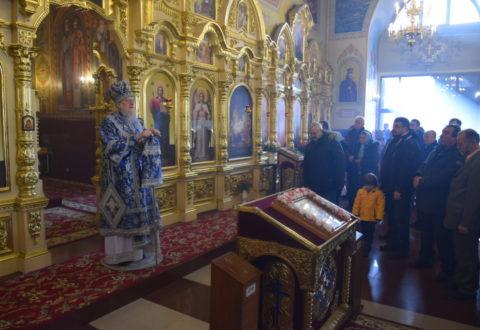 Архієрейське богослужіння у свято Введення в храм Пресвятої Богородиці