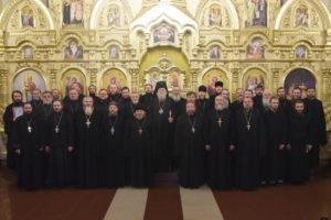 Відбулися єпархіальні збори духовенства