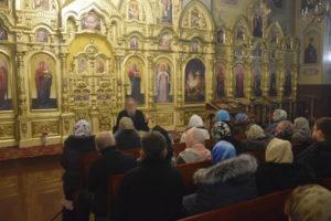 Архієпископ Серафим провів заняття Недільної школи для дорослих
