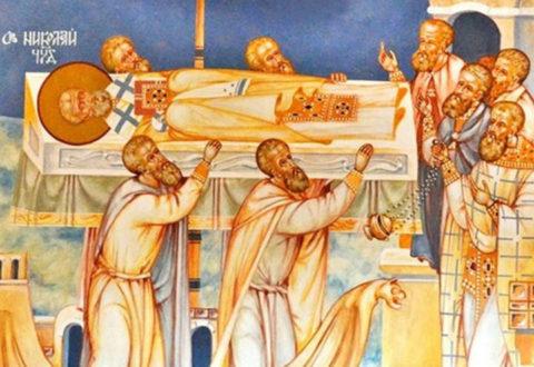Архієрейське Богослужіння у свято перенесення мощів святителя Миколая