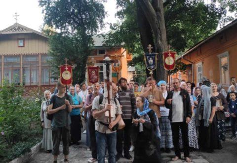 Розпочався Хресний Хід Івано-Франківськ-Свято-Успенська Почаївська Лавра