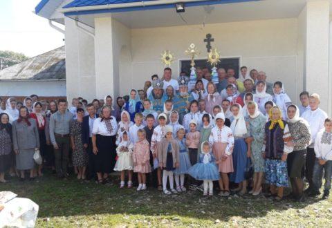 Свято-Успенська громада с. Старий Гвіздець молитовно відзначила престольне свято