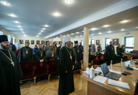 Представники єпархії взяли участь у зборах голів єпархіальних юридичних відділів УПЦ у Києво-Печерській Лаврі